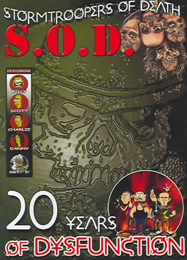 20 YEARS OF DYSFUNCTION BY S.O.D. (DVD)